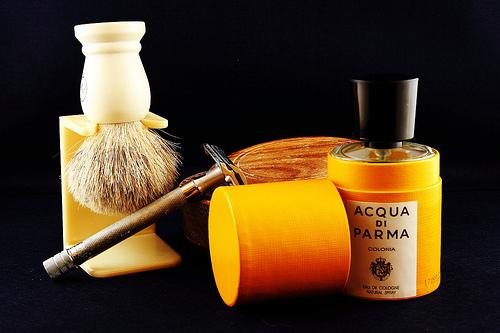 Tradycyjne golenie zestaw
