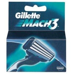 Wkłady Gillette mach 3 sztuk 8