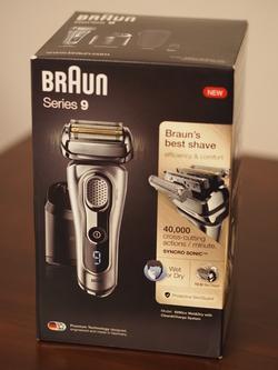 Ja wygląda Pudełka Braun Series 9